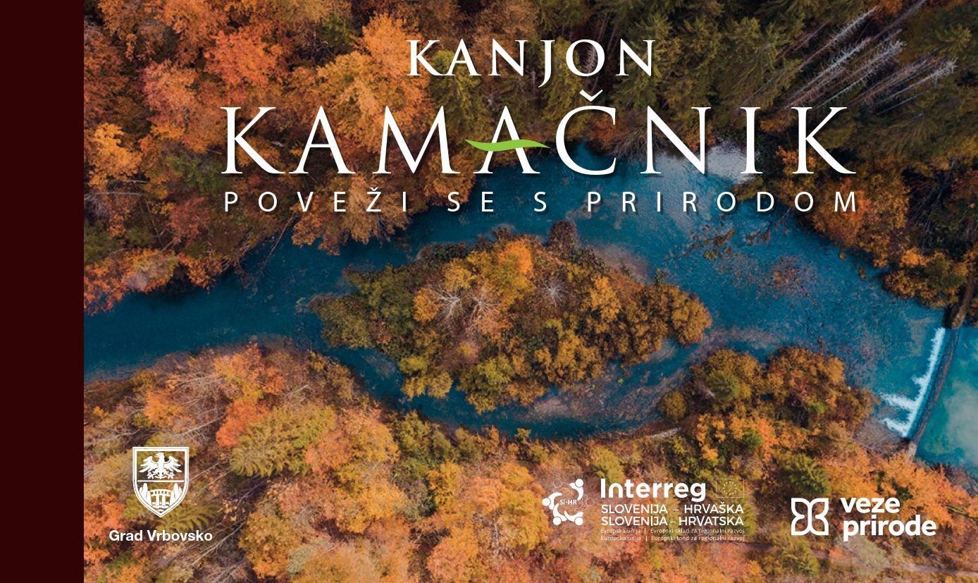 "Kanjon Kamačnik brošura ""VEZE PRIRODE"" -¸ HR verzija"